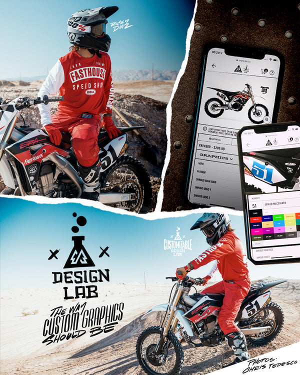 ERA Design Lab. The way custom motocross graphics should be done.