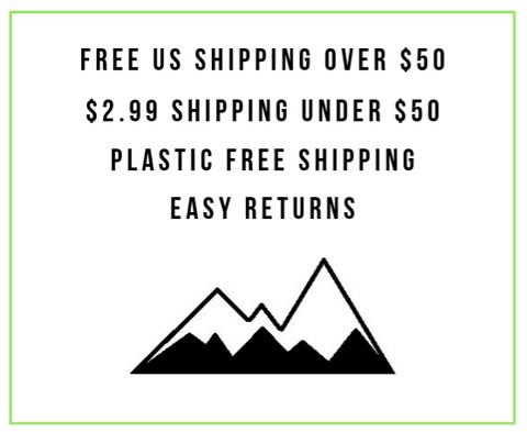 Free plastic free shipping and easy returns
