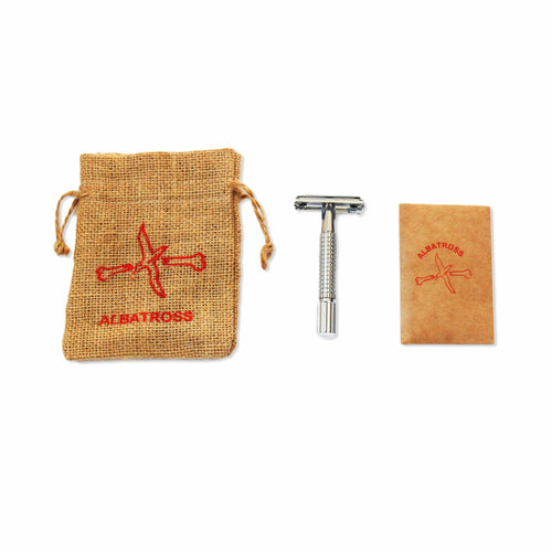 Double Edge Safety Razor (with 10 blades)