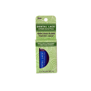 Blue Silk Refillable Dental Floss