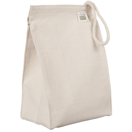 Recycled cotton lunch bag