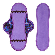 Organic Maxi Pad & Insert in Cosmic Dancer design