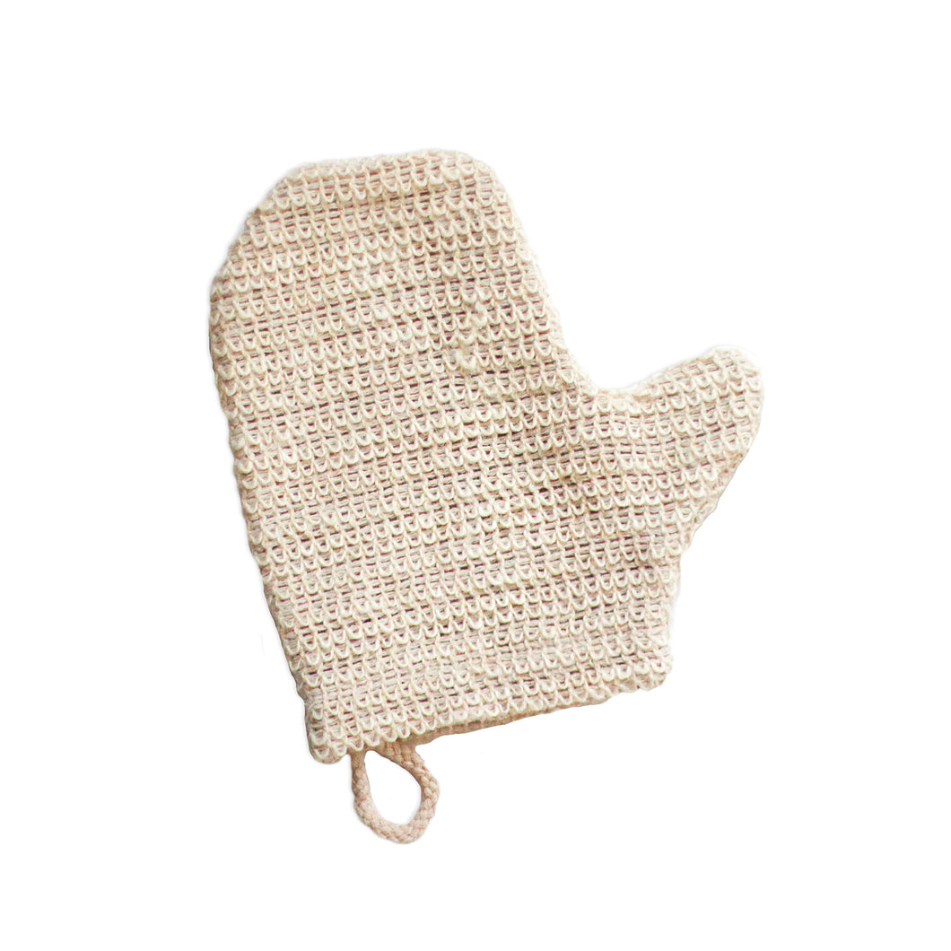 Sisal Shower Mitt
