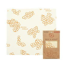 One large reusable beeswax food wrap