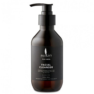 SUKIN FACIAL CLEANSER | MEN'S 225ML