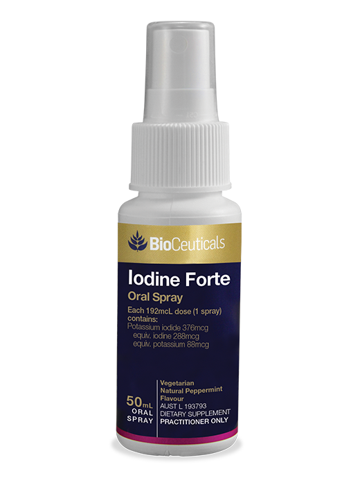 BioCeuticals Iodine Forte – Oral Spray (50ml)