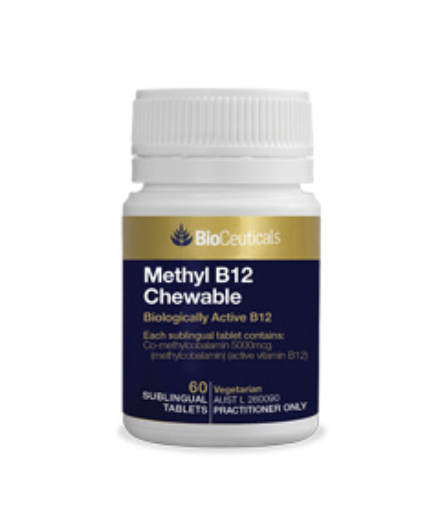 BioCeuticals Methyl B12 Chewable (60 tablets)