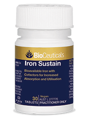 BioCeuticals Iron Sustain (30 tablets)