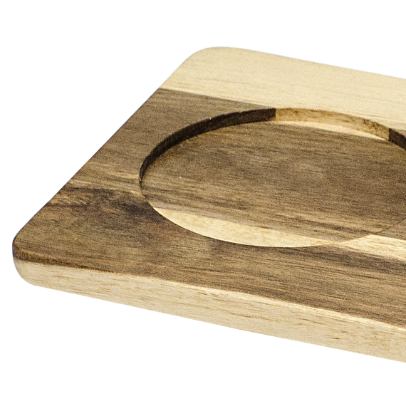 Reversible Serving Board with 3 Inserts