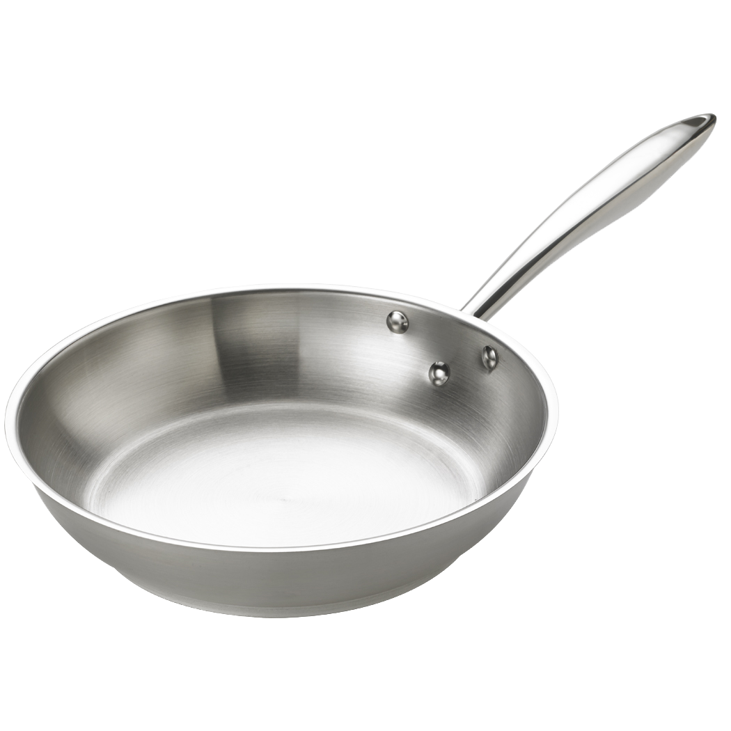 Stainless Steel Deluxe Fry Pan
