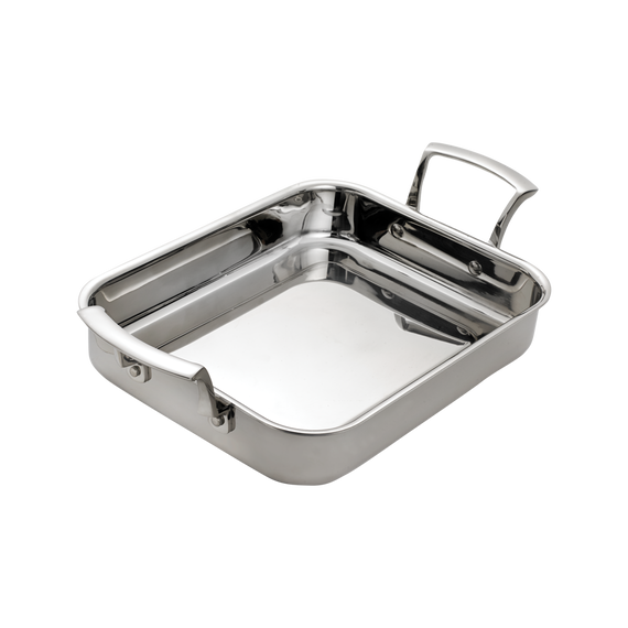 Tri-Ply Rectangular Roast Pan
