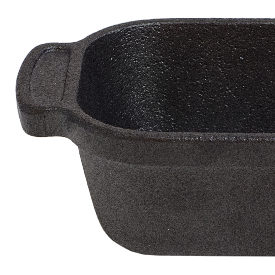 Cast Iron Mini Traditional Rectangle
