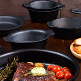 Cast Iron Mini Modern Oval
