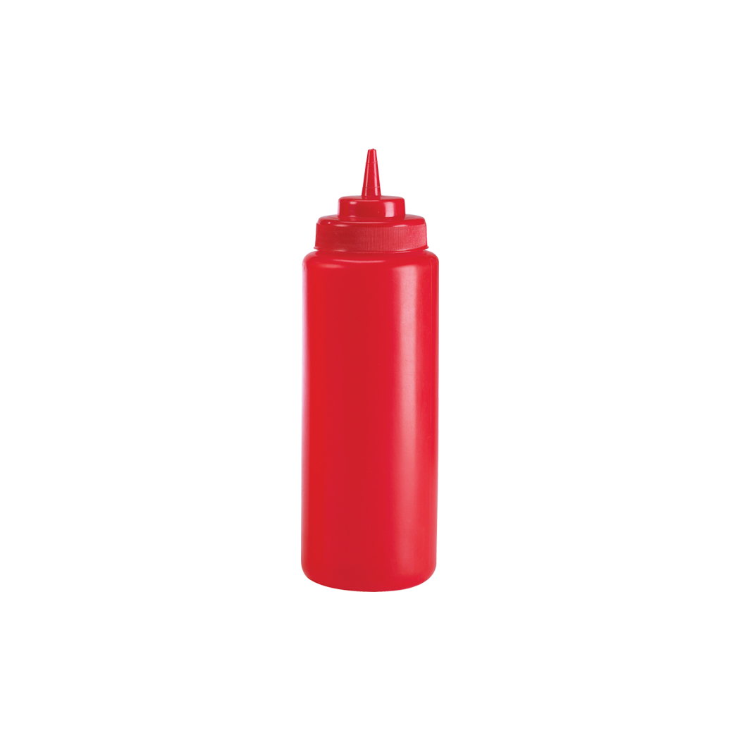 Wide Mouth Squeeze Dispenser, Red