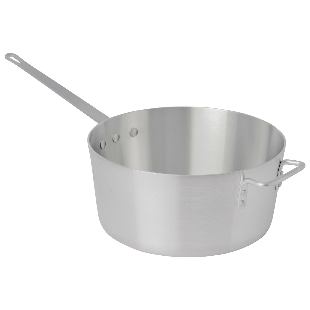 Standard Weight Tapered Sauce Pan with Helper Handle