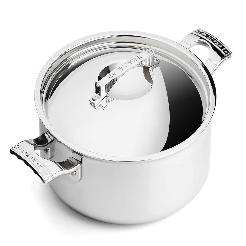 Mont Bleu Saute Pan with Lid