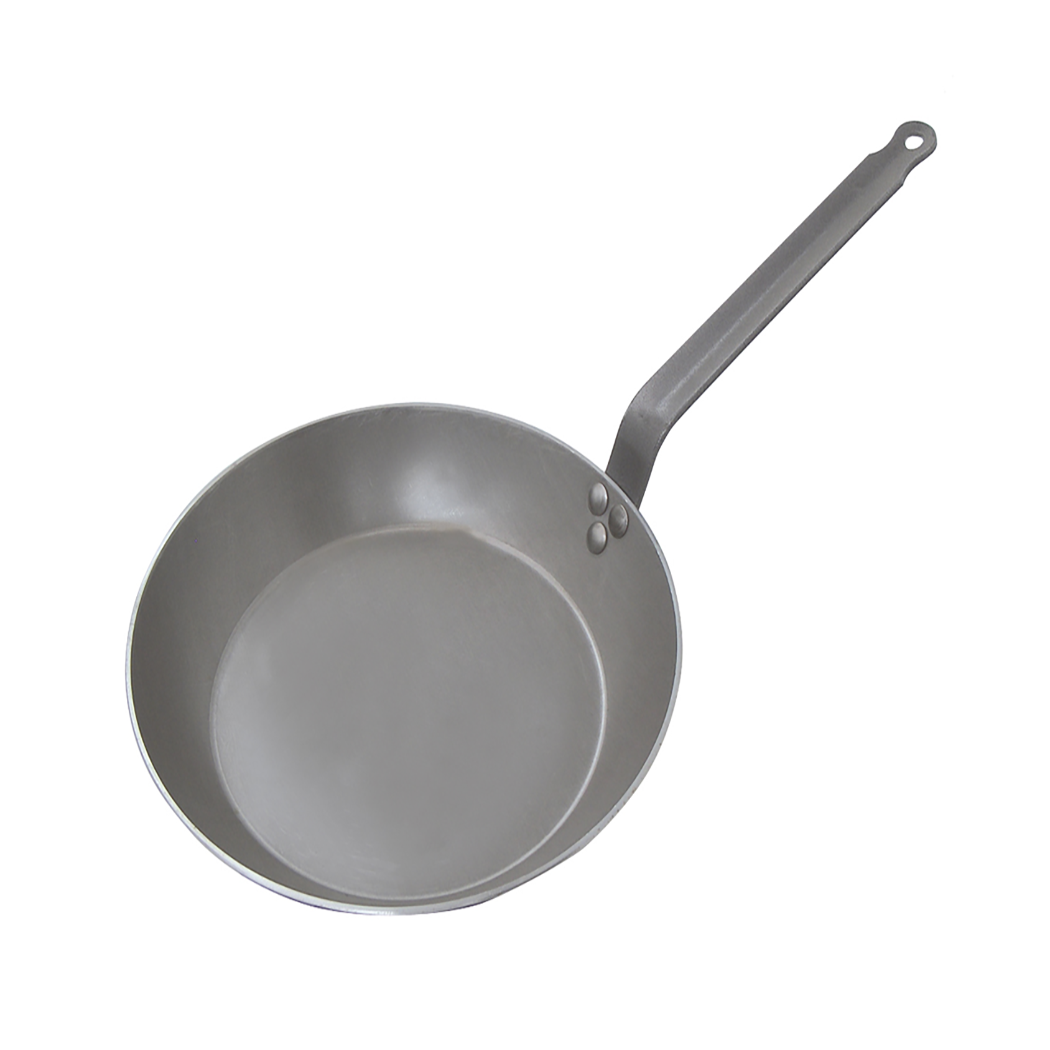 Iron  Carbon Plus Fry Pan