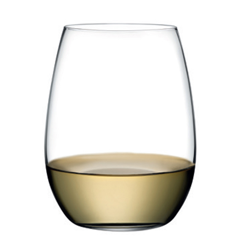 Pure White Wine Glass