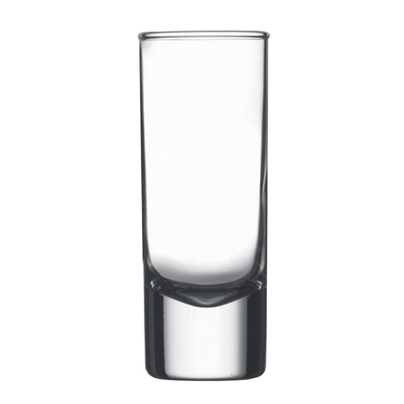Side-Heavy Sham Cordial Glass