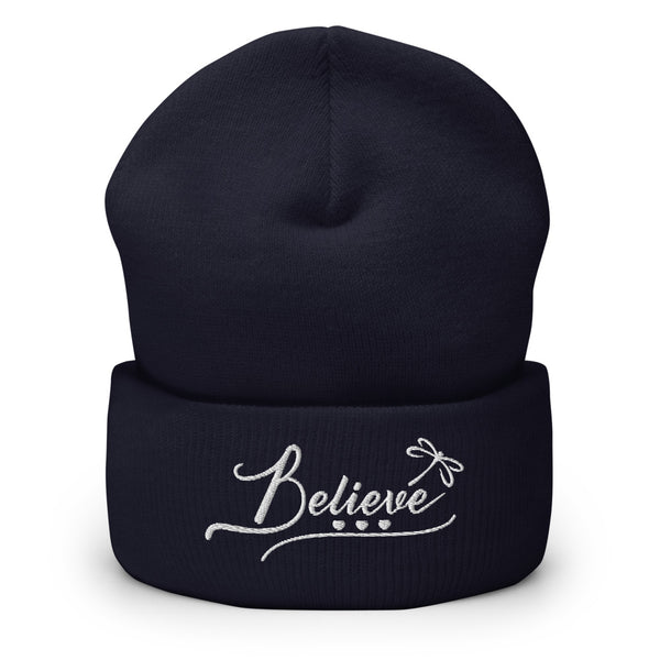 Believe Cuffed Beanie - The Be Line Products