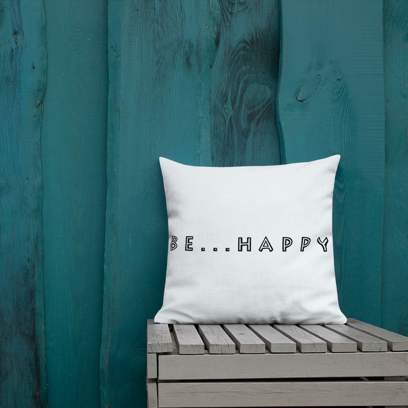 Be...Happy Premium Pillow - The Be Line Products