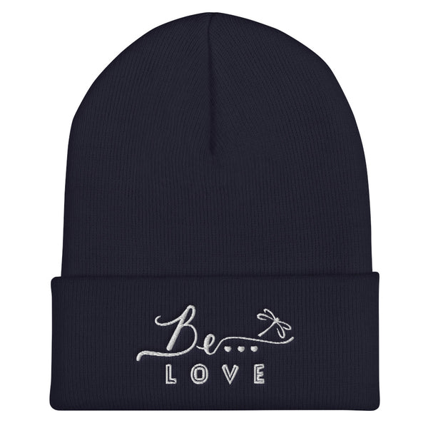 Be...Love Cuffed Beanie - The Be Line Products