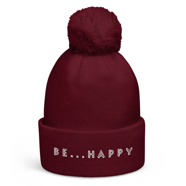 Be...Happy Knit Beanie - The Be Line Products