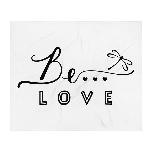 Be...Love Throw Blanket - The Be Line Products