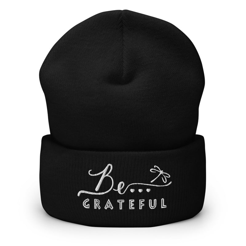 Be...Grateful Cuffed Beanie - The Be Line Products