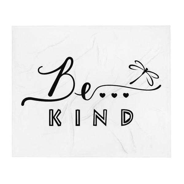 Be...Kind Throw Blanket - The Be Line Products