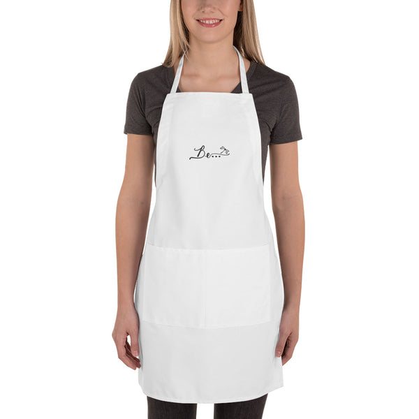 Be... Embroidered Apron - The Be Line Products