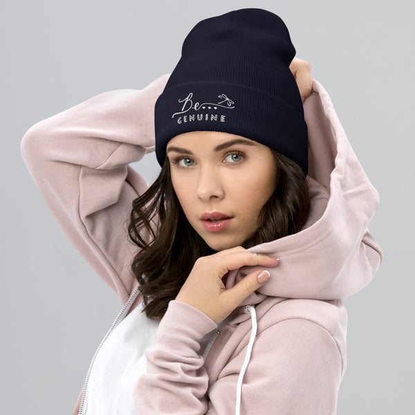Be...Genuine Cuffed Beanie - The Be Line Products