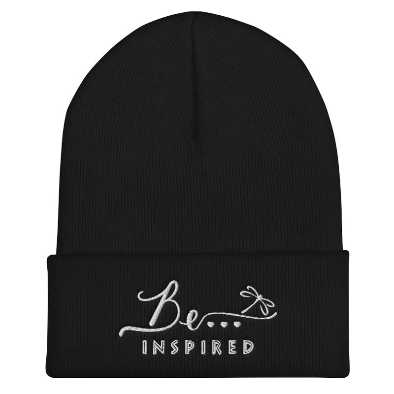 Be...Inspired Cuffed Beanie - The Be Line Products