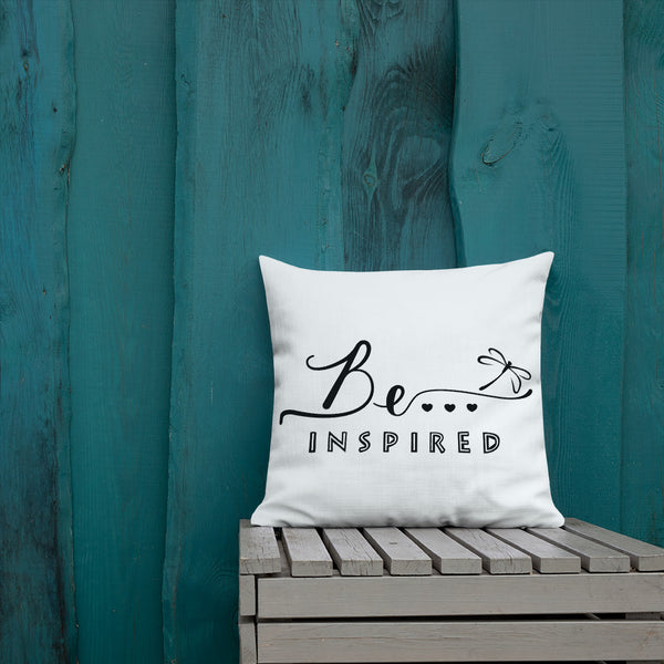 Be...Inspired Premium Pillow - The Be Line Products