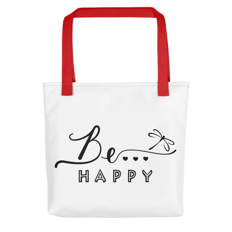 Be... Happy Tote Bag - The Be Line Products