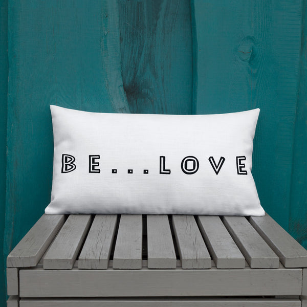 Be...Love Premium Pillow - The Be Line Products