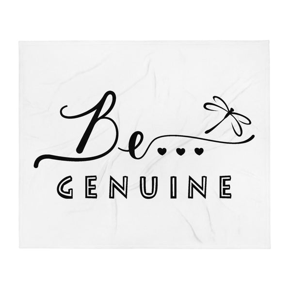 Be...Genuine Throw Blanket - The Be Line Products