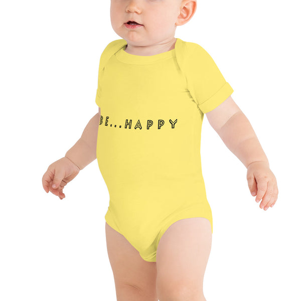 Be...Happy Baby One Piece - The Be Line Products