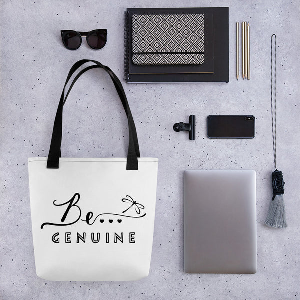 Be... Genuine Tote Bag - The Be Line Products