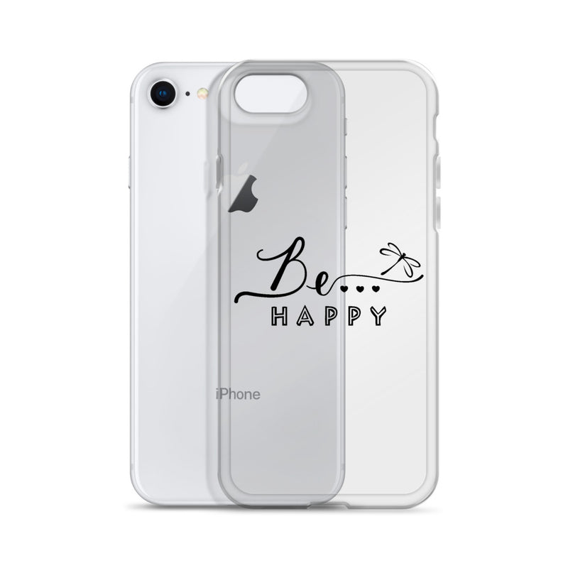 Be...Happy iPhone Case - The Be Line Products