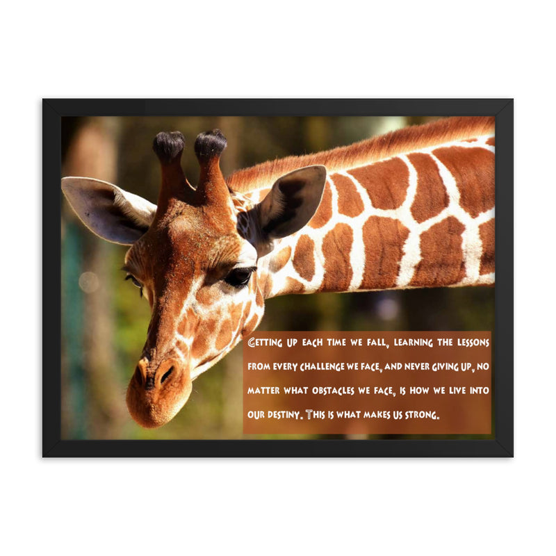 Giraffe Africa Print - The Be Line Products