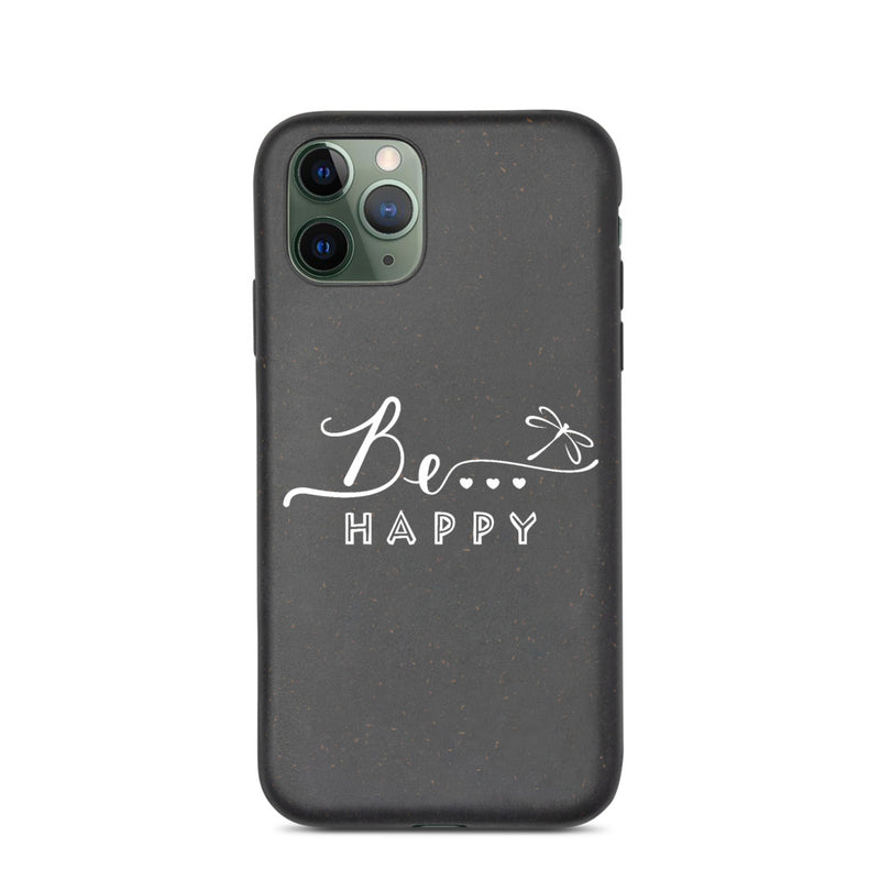 Be...Happy Cell Phone Cover - The Be Line Products