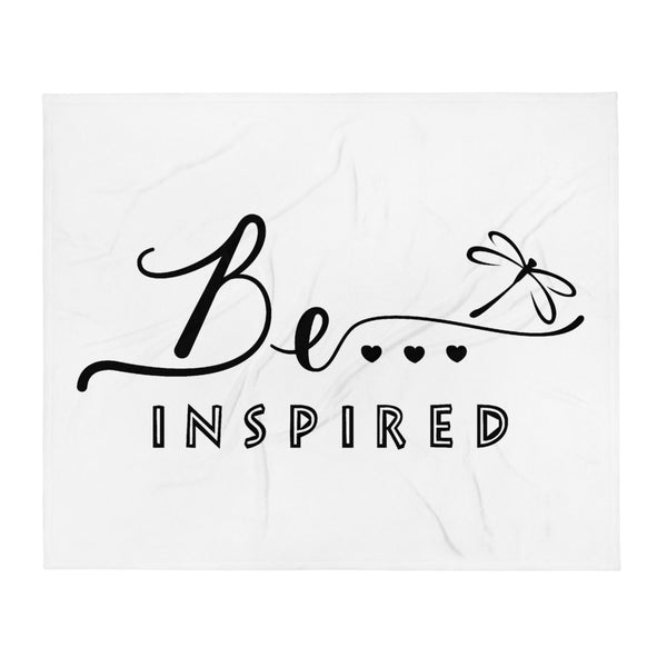 Be...Inspired Throw Blanket - The Be Line Products