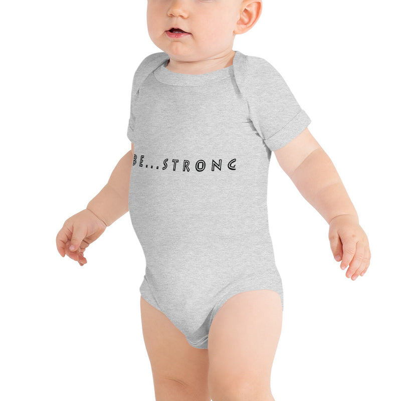 Be...Strong Baby One Piece - The Be Line Products