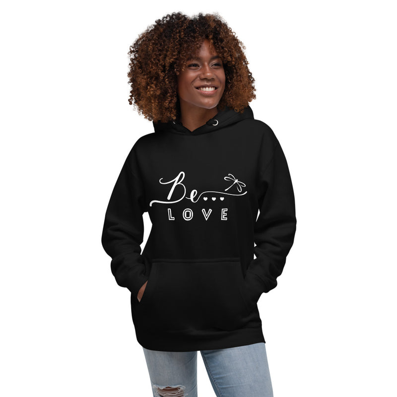Be...Love Women's Premium Hoodie - The Be Line Products