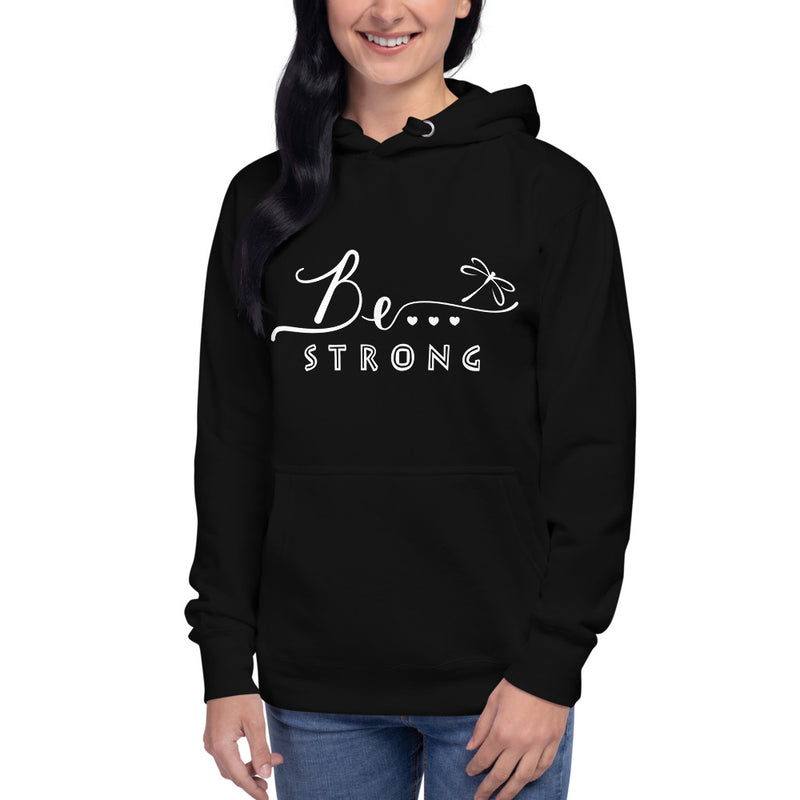 Be...Strong Women's Premium Hoodie - The Be Line Products