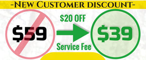 Service Fee Discount