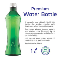 Glacier Water Bottle 1L
