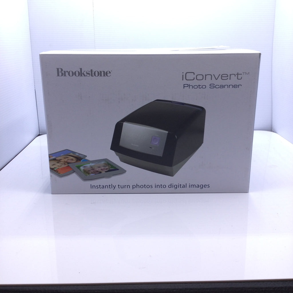 Brookstone iConvert Photo Scanner