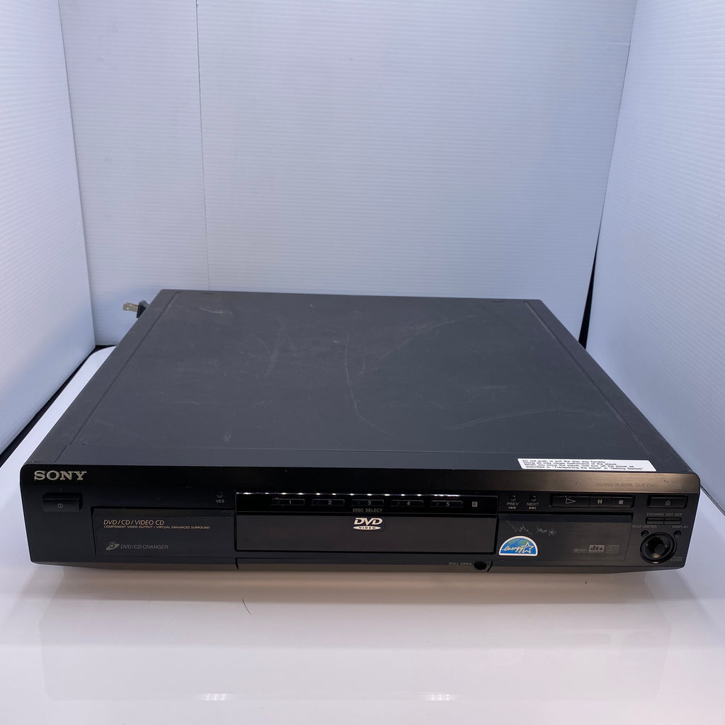 Sony Dvd Player w/ Remote 5 Disk